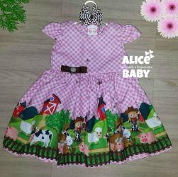 Vestido Fazendinha Mod.3 PrintV