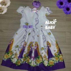 Vestido Rapunzel Mod.2 PrintV