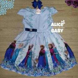 Vestido Frozen Mod.4 PrintV