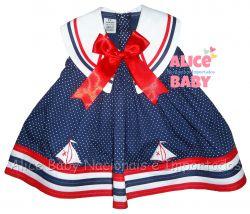 Vestido Navy Mod.1