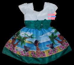 Vestido Moana Baby Mod.8 PrintVIII