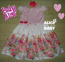 Vestido Baby Alive Mod.1 PrintV