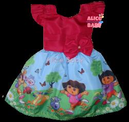 Vestido Dora Aventureira Mod.1 PrintVIII