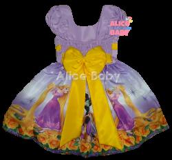 Vestido Rapunzel Mod.5 PrintVIII