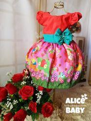Vestido Moranguinho Mod.5 PrintVI