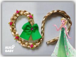 Tiara Trança Frozen Fever Elsa