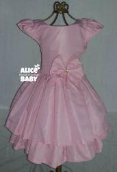 Vestido Rosa Bebê PrintVIII