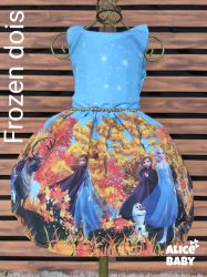 Vestido Frozen Mod.2 PrintVIII