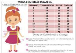 Vestido Festa Jardim Encantado Mod.5 Baila Nina