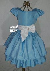 Vestido Azul Claro PrintVIII