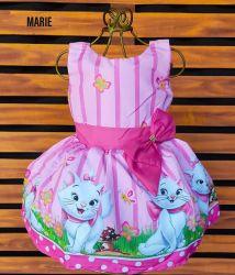 Vestido Gatinha Marie Mod.3 PrintVIII
