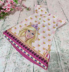 Vestido Trapézio Barbie  Mod.9 PrintIX