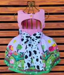 Vestido Fazendinha Mod.7 PrintVIII