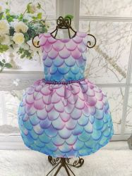 Vestido Escama Sereia Mod.2 PrintIX
