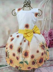 Vestido Floral Girassol PrintIX