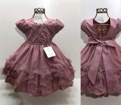 Vestido Festa Rosê Nelu
