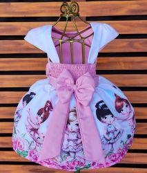 Vestido Bailarina Jolie Mod.1 PrintVIII