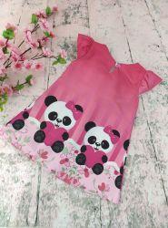 Vestido Trapézio Panda Mod.5 PrintIX