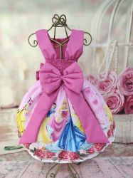 Vestido Princesas Disney Mod.3 PrintIX