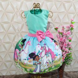 Vestido Princesa Nella Mod.1 PrintIX