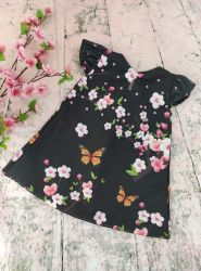 Vestido Trapézio Floral Mod.8 PrintIX