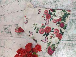 Vestido Trapézio Floral Mod.9 PrintIX