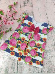 Vestido Trapézio Floral Mod.11 PrintIX