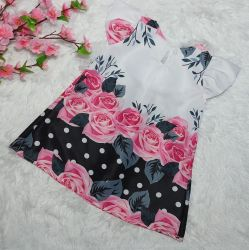 Vestido Trapézio Floral Mod.3 PrintIX