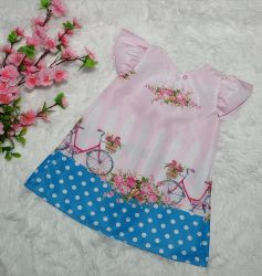 Vestido Trapézio Floral Mod.7 PrintIX