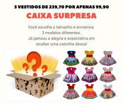 Caixa Surpresa - 3 Peças
