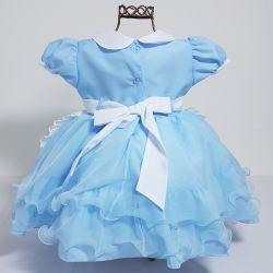 Vestido Festa Alice no País das Maravilhas Mod.4 Nelu