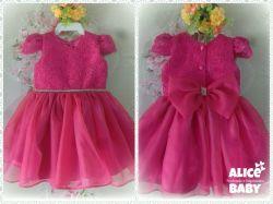 Vestido Festa Pink Encanto