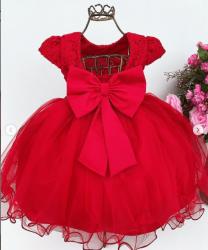Vestido Festa Vermelho Miss Bella