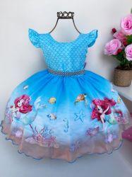 Vestido Festa Sereia Baila Nina