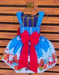 Vestido Natal Papai Noel Mod.3 PrintVIII