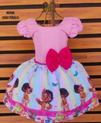 Vestido Moana Baby Mod.11 PrintVIII
