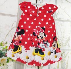 Vestido Trapézio Minnie Vermelho Mod.2 PrintIX