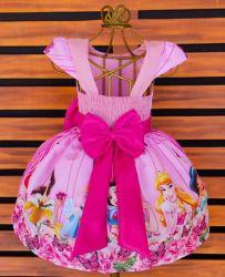 Vestido Princesas Disney Mod.6 PrintVIII
