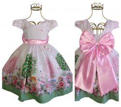 Vestido Festa Bosque Encantado Mod.1 PrintX