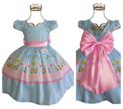 Vestido Festa Butterfly Mod.1 PrintX