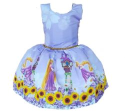 Vestido Rapunzel Mod.3 PrintVIII