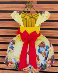 Vestido Bela e a Fera Mod.3 PrintVIII