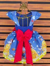 Vestido Bela e a Fera Mod.4 PrintVIII