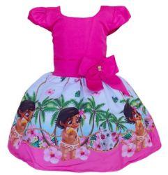 Vestido Moana Baby Mod.10 PrintVIII