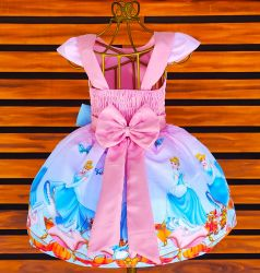 Vestido Cinderela Mod.5 PrintVIII