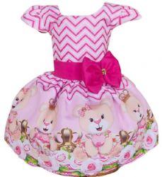 Vestido Ursinha Princesa Mod.3 PrintVIII