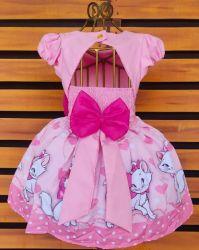 Vestido Gatinha Marie Mod.1 PrintVIII