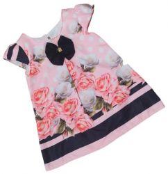 Vestido Trapézio Floral Mod.14 PrintVIII