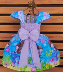 Vestido Sereia Mod.4 PrintVIII