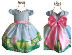 Vestido Festa Ovelhinha Mod.1 PrintX